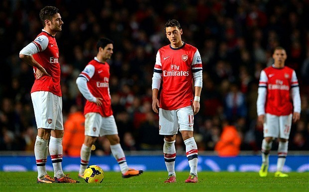 Arsenal 1 Everton 1: match report
