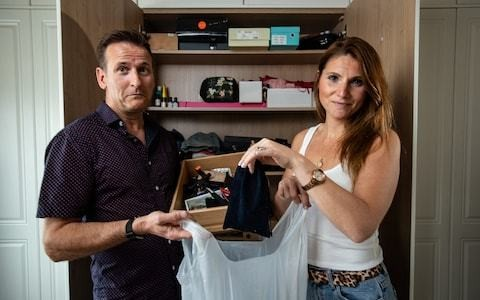 Are you embroiled in a battle over wardrobe space? One couple fights it out...