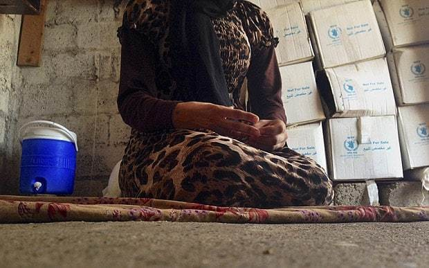 Yazidi teenager kidnapped by Isil tells of her captivity