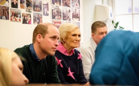 The empathy Mary Berry and the Duke of Cambridge share over loss of loved ones is at the heart of her Christmas special