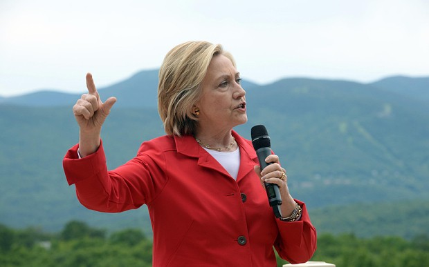 Hillary Clinton accuses China of trying to 'hack into everything that doesn't move in America'