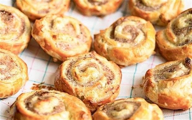 Rose Prince's Baking Club: sausage Danish