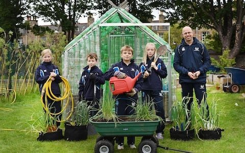 Urban schools are making more of an effort to teach children about gardening than rural counterparts, RHS says