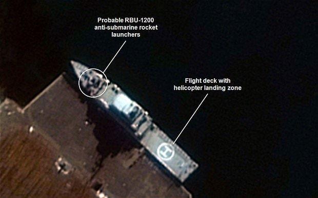 North Korea warships seen in satellite images