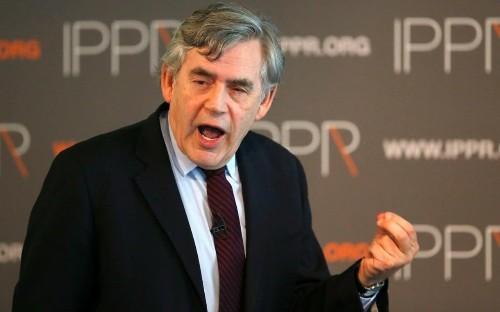 Gordon Brown tells Scots: UK's single market worth far more than EU's