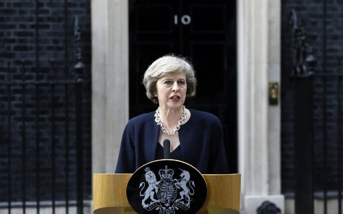 We're all sitting up straighter now that Theresa May is in charge