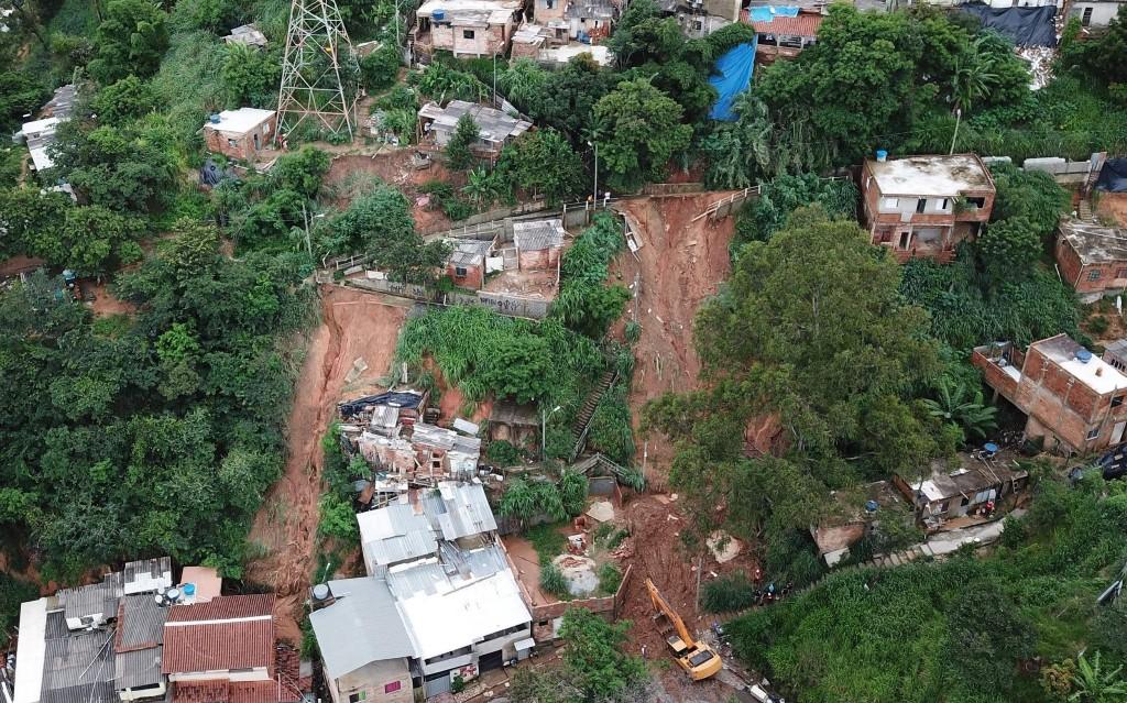 Brazil storms: At least 30 killed after devastating landslides