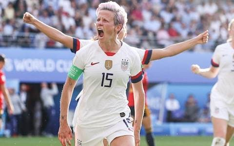 USA captain Megan Rapinoe aiming to turn World Cup quarter-final against France into a 'crazy spectacle'