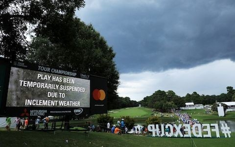 PGA Tour under scrutiny after lightning strikes injure spectators
