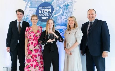 And the winner of the STEM Awards 2019 is...Eleanor Wilson