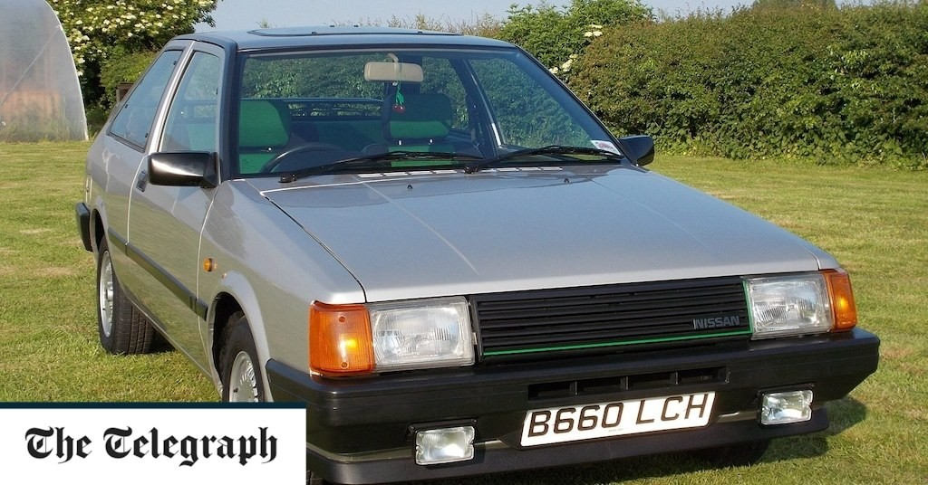 UK's rarest cars: 1985 Nissan Cherry Europe GTi, one of only five left on British roads
