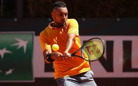 Nick Kyrgios: 'I'm one of the best grass-courters in the world but holding it together mentally for me is tough'