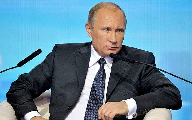Vladimir Putin vows that United States 'will never subjugate Russia'