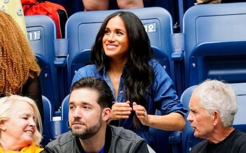 The Duchess of Sussex cheered on her friend Serena Williams at the US Open Final