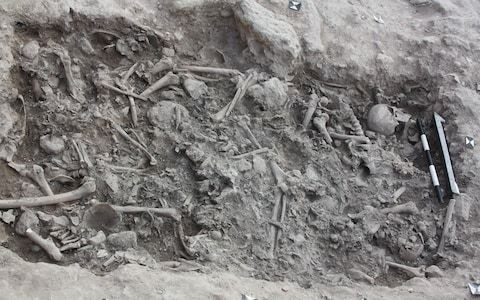 Crusader skull used to spread disease and slash morale discovered by archaeologists
