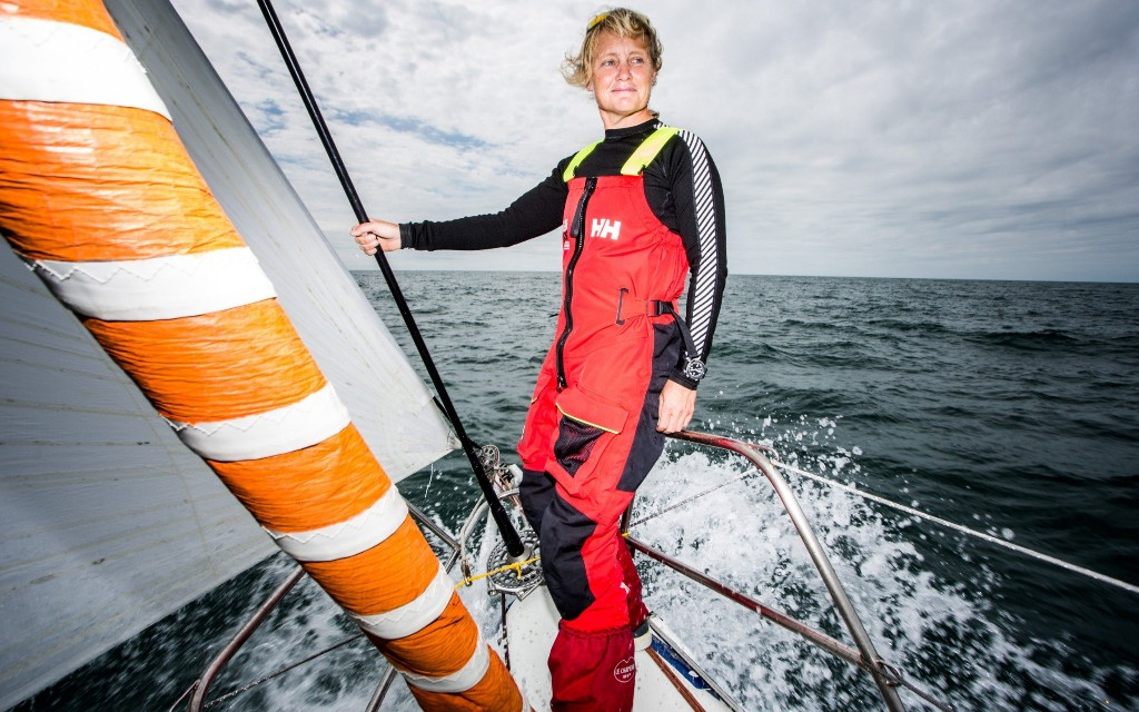 Solo round-the-world sailor Pip Hare in moral quandary over pursuing life's dream during pandemic