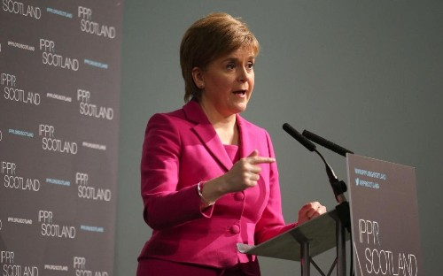 Ruth Davidson: SNP to impose £1 billion tax 'surcharge' on Scottish families and business