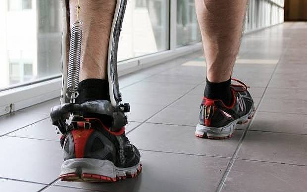 Put a spring in your step...with an exoskeleton