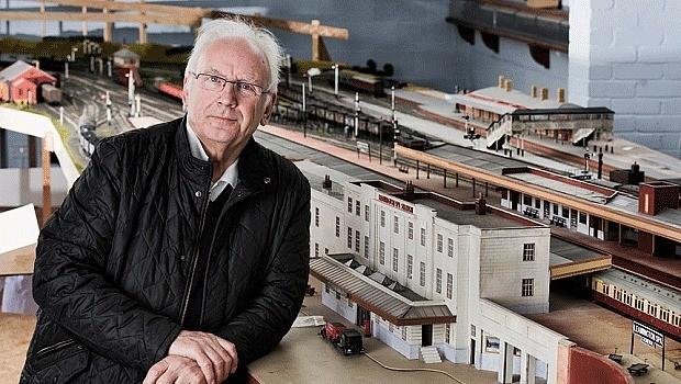 Why do men love model railways?