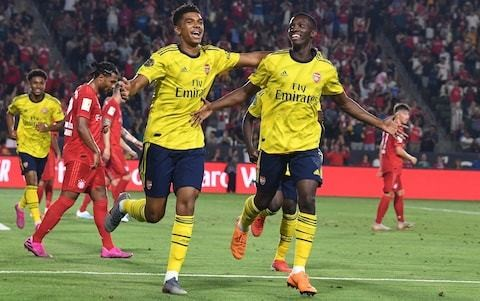 Arsenal defeat Bayern Munich - what we learned: Ozil revived in No 10 role and defence still team's Achilles heel
