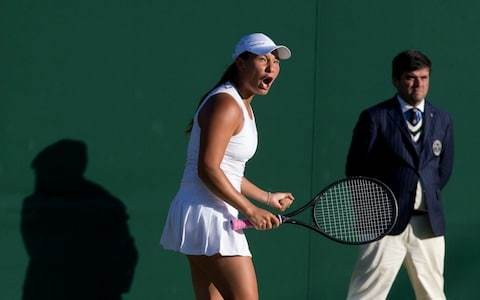 Tara Moore fights back from 0-6, 0-5, 30-40 deficit to record one of the most extraordinary comebacks in tennis history