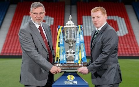 Celtic chase 'treble treble' as Neil Lennon and Craig Levein renew acquaintances