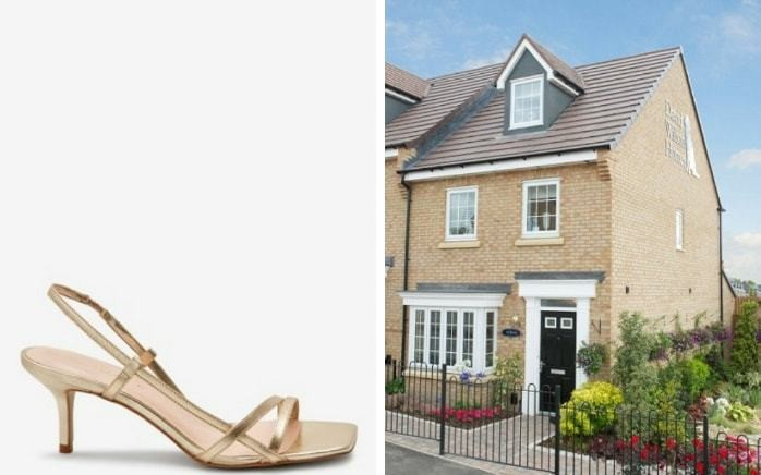 'It's so unfair that £30 sandals from the Next catalogue could scupper our £265k mortgage'