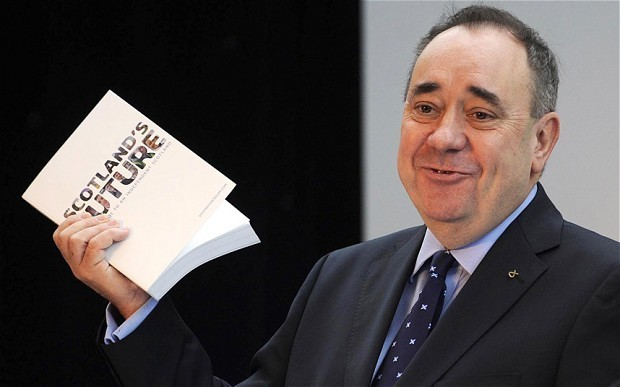 Alex Salmond in disarray over independent Scotland's costs