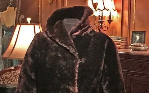 Fur coat worn by Titanic survivor when she was rescued from lifeboat sells for £150,000 at auction