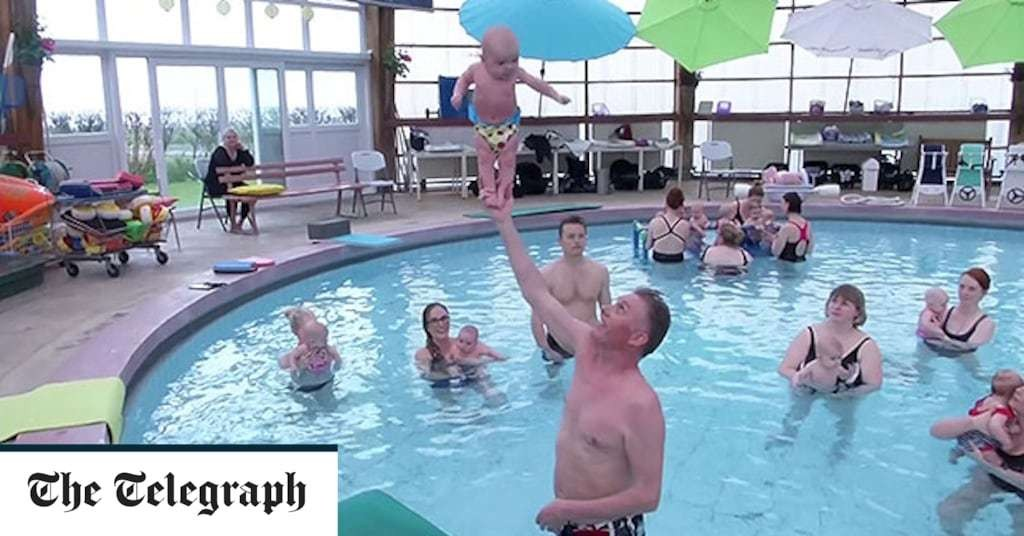Icelandic 'baby whisperer' teaches infants to stand at just three months old