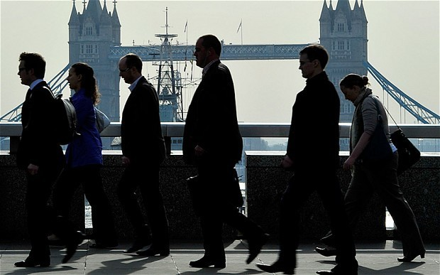 Financial crisis has left 'permanent scar' on UK wages