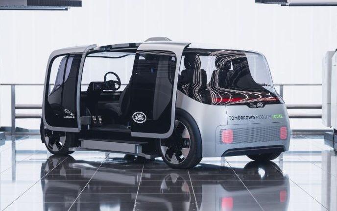 Jaguar Land Rover unveils box-like car of the future