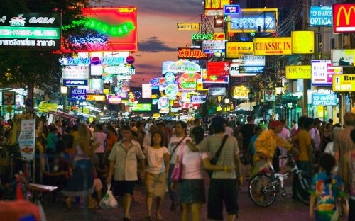 Thailand 'most popular' for gap years