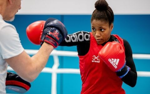 Exclusive interview: Boxer Caroline Dubois on posing as a boy called 'Colin' and dreams of turning pro after explosive junior career