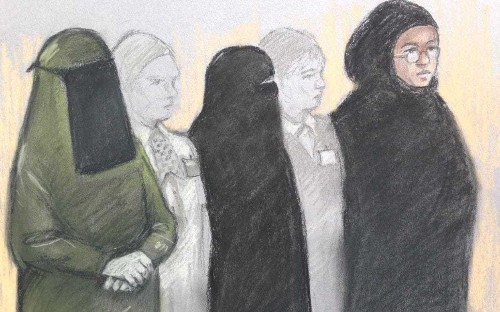 Mother and daughter in terror plot case ordered to lift veils by magistrate who demands to see their eyes