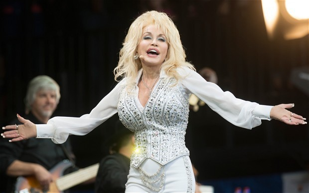 Dolly Parton: my boobs are fake but my voice is real - I did not mime at Glastonbury