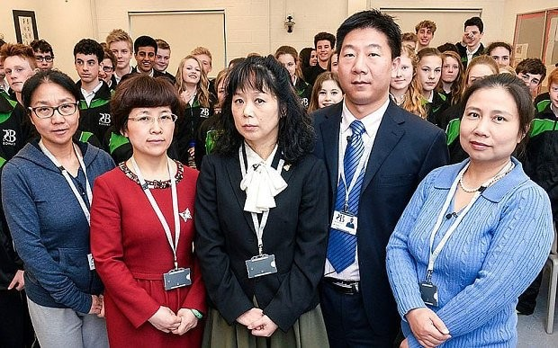'Britain's generous welfare system behind pupils' lack of ambition,' say Chinese teachers