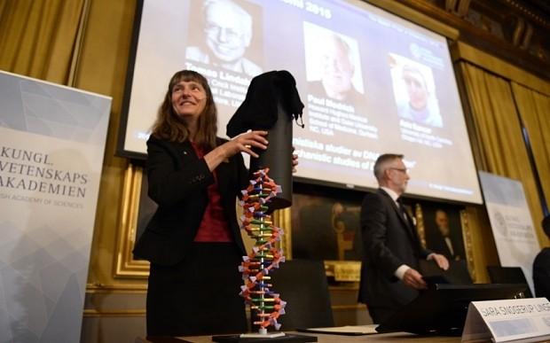 DNA detectives win Nobel Prize for cancer cure breakthrough