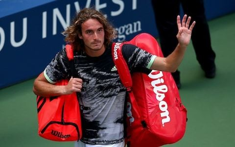 Stefanos Tsitsipas crashes out of US Open and picks up code violation in loss to Andrey Rublev