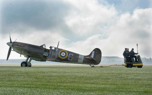 The real Spitfires used to film Dunkirk – and how you can fly in one