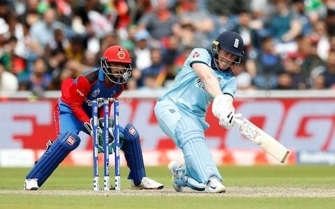 England and Eoin Morgan forego opportunity to take foot off gas against Afghanistan in Old Trafford masterclass