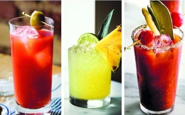 Modern twists on the classic Bloody Mary