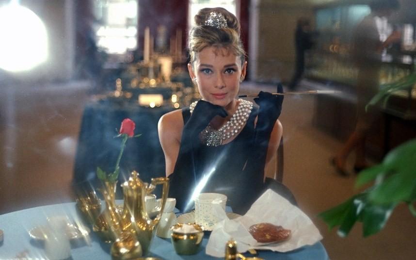 Hepburn's secret? Never miss breakfast (wherever)