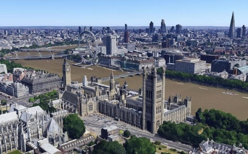 London in 3D: Google brings the capital's skyline to life