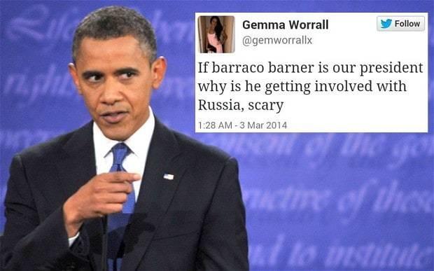 Blame spellcheck? Twitter user misspells US president's name as 'Barraco Barner'