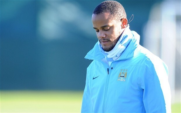 Manchester City defender Vincent Kompany to be assessed by Belgium physio as injuries persist