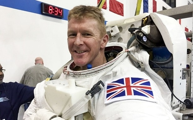 Astronaut Tim Peake's children count 'sleeps' until they see daddy again