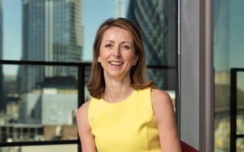 Bank of England hopeful Helena Morrissey says next Governor must be more positive on Britain and keep rates above zero
