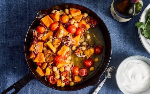 One-pot pumpkin and chickpea stew