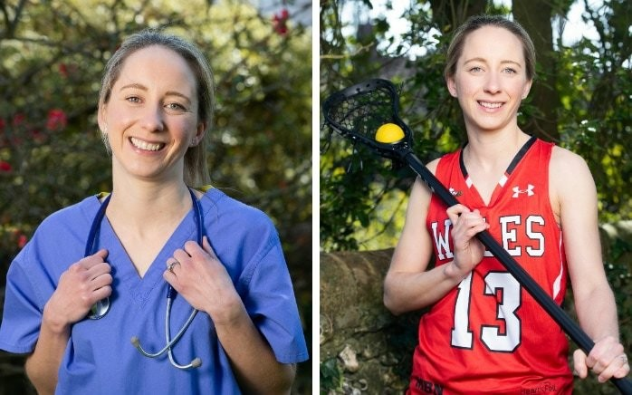 Exclusive interview: Welsh lacrosse captain Eleanor Gaastra on how sport is helping her in role as intensive care doctor on NHS frontline
